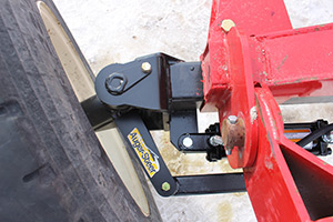 Auger-Steer turned left