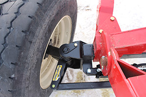 Auger-Steer turned right