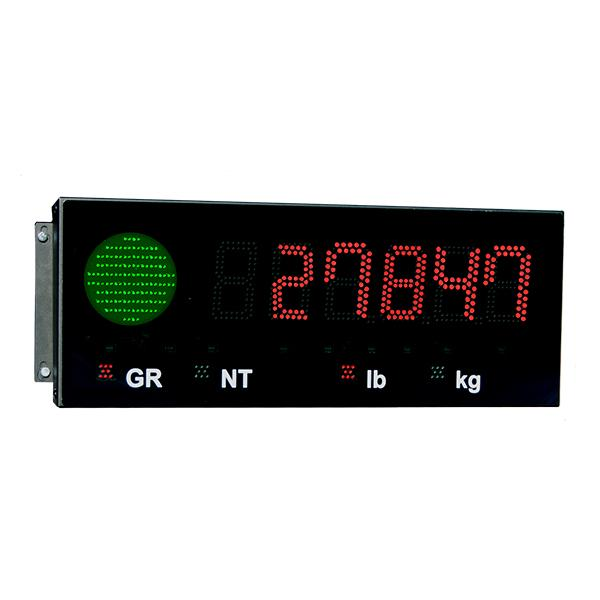 LED Display with Stop/Go Light for Agriculture Scales