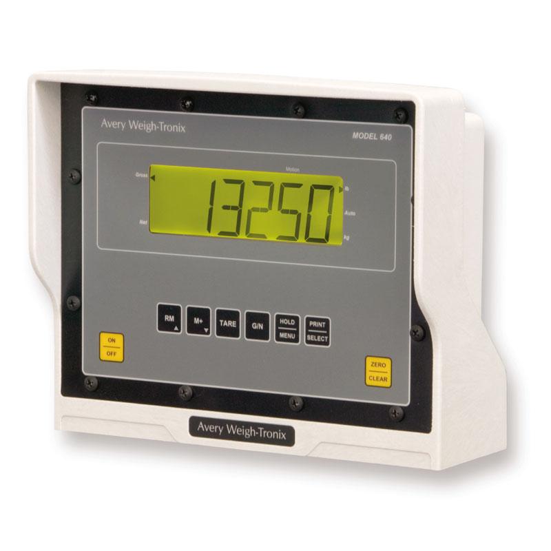Avery Weight-Tronix 640 scale indicator