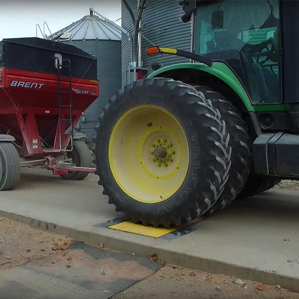 LS-WIM™ Weigh-In-Motion Axle Scale for Agriculture