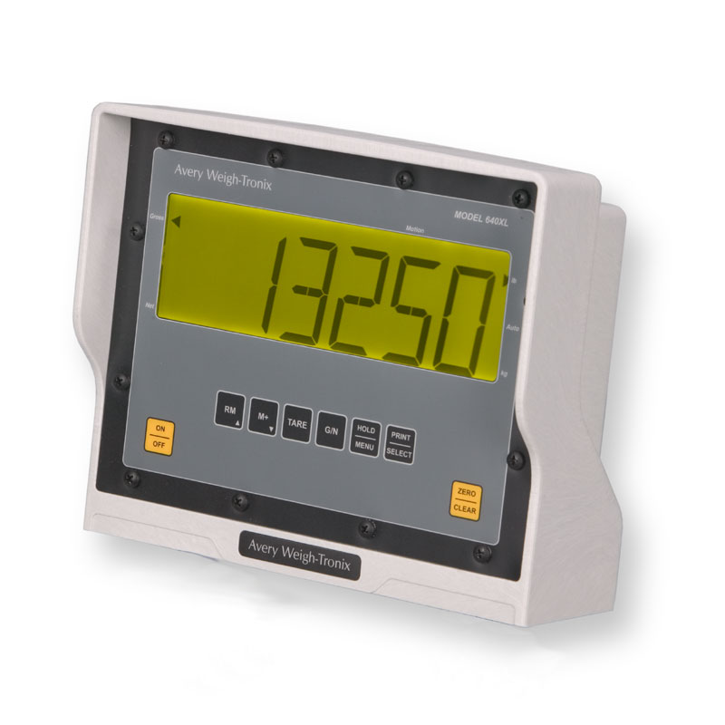 Avery Weight-Tronix 640xl scale indicator